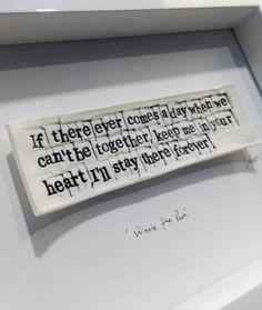 """READY TO POST - Winnie the Pooh """"if there ever comes a day when we can't be together. Cant Be Together, Christmas Pops, Tile Art, Tiles, Newly Married, Cork Crafts, When Us, Kids Bedroom, Winnie The Pooh"""