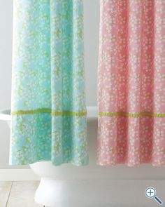 Lilly of the Valley Shower Curtain: If I remember correctly, our dorm room bathroom had a nice hospital style going on. A bright Lilly shower curtain would liven those early mornings up.