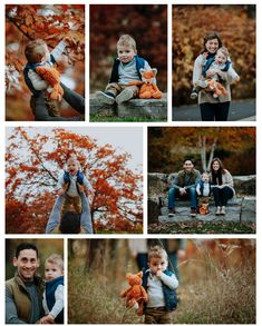 Fall Family Portrait Session with little boy. Fall Family Portraits, Little Boys, Studios, Gray, Couple Photos, Couple Shots, Toddlers, Grey, Couple Pics