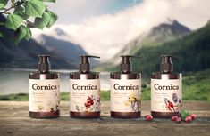 Cornica is a line of shampoos, shower gels, and liquid soaps that are sure  to…