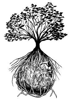 Mike Kevan Art Dump: Tree of Life Tattoo