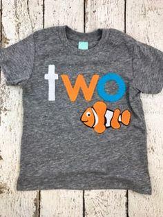 New lil threadz design posted! Fish theme party fish party guppie fish decor fish invite clownfish shirt children's tee aquarium children's clothing by lilthreadzclothing