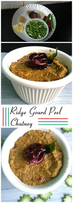 Ridge gourd peel chutney,Peerkangai Thol Thogayal, made out of Ridge Gourd Peel which is rich in fibres which makes it healthier www.krishrecipes.com