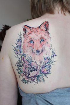#tattoofriday - Tatuagens botânicas coloridas e delicadas da russa Olga Koroleva;