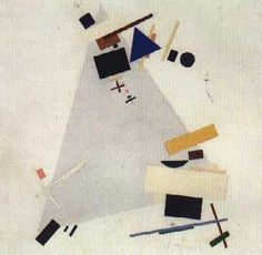 Russian Art - Suprematism, Constructivism, Kinetic Sculpture Kazimir Malevich