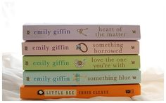 emily griffin.  love all of her books. sweet!!