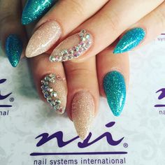 Lost your sparkle? Come to #NSIScotland and glitter your life! #GlitterNails #NailArt #NSINails #GlasgowBeauty