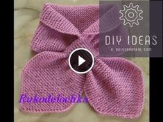 Best Ideas For Baby Crochet Scarf Girls Baby Knitting Patterns, Lace Knitting, Knitting Designs, Knit Lace, Hand Knit Scarf, Diy Scarf, Gilet Crochet, Crochet Baby, Crochet Girls