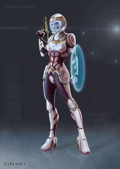 Wonder Woman Sci-fi