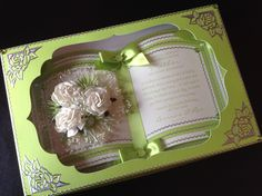 Book card Easel Cards, 3d Cards, Pop Up Cards, Tattered Lace Cards, Step Cards, Card Book, Shaped Cards, Card Tags, Greeting Card