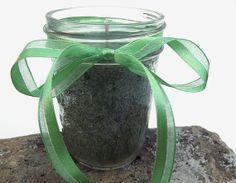 CUCUMBER MINT Palm Wax Candle  Hand Poured Palm by curiouscarrie, $9.50