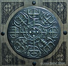 The viking compass Vegvisir