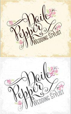 Whimsical name logo