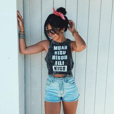 Find images and videos about girl, fashion and style on We Heart It - the app to get lost in what you love. Summer Outfits, Casual Outfits, Cute Outfits, Tumblr Photography, Photography Poses, Girly, Style Tumblr, Tmblr Girl, Only Shorts