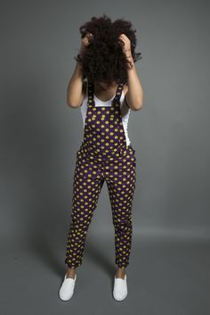 Premium Pants, African Print Wide Leg Pants - Reny styles By Diyanu African Inspired Fashion, Latest African Fashion Dresses, African Print Dresses, African Print Fashion, African Dress, Fashion Prints, African Print Jumpsuit, Ankara Dress Styles, Africa Fashion