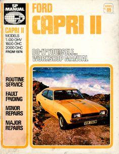 Ford Capri II Workshop Manual (1978).