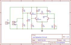 Light detector circuit diagram using wheat stone bridge | Electronic ...