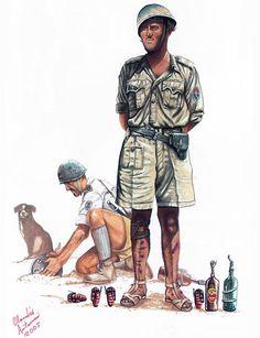 """Regio Esercito - Soldato, XXXI Guastatori (Assault Engineers) Battalion, El Alamein, 1942""""   Claudio Antonucci"""