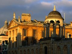 Queens College on High Street, Oxford, Oxfordshire, England - One for my friends in Sale