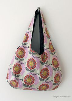 Reversible Handbag Tutorial by Leigh Laurel Studios