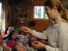 A Mountain Hearth: Little House on the Prairie Camp - herbs / natural medicine / frontier doctors