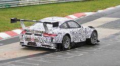 New Porsche 911 for racing 2015.