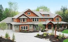 Craftsman Luxury on a Budget - 23374JD | 2nd Floor Master Suite, Bonus Room, Butler Walk-in Pantry, CAD Available, Corner Lot, Craftsman, Den-Office-Library-Study, Luxury, MBR Sitting Area, Northwest, PDF, Photo Gallery, Premium Collection, Shingle | Architectural Designs