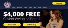 legitimate online casino with welcome bonus
