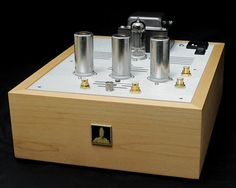 Bottlehead phono pre-amp. Arguably not as pretty as some of the tube gear out there but there is something to be said about building it with your own hands. Besides, skin-deep aesthetics make nothing sound better.