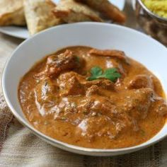 Slow cooker balti lamb curry