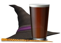 Mr. Beer Witch's Flight - This hoppy brown ale drinks almost like an IPA, but with no bitterness. The tropical fruity notes of the Falconer's Flight hop blend are carried by a smooth malt backbone provided by our Bewitched Amber ale.