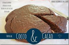 ricetta torta cocco e cacao vegan