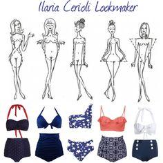 retrò swim by ilaria-lookmaker on Polyvore featuring moda, Boohoo and SoCa St. John
