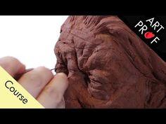 Art Professor Sculpts a Portrait Bust with Air Dry Clay Air Dry Clay, Art Techniques, Clay Art, Art Tutorials, Sculpture Art, Professor, Sculpting, Fine Art, Portrait