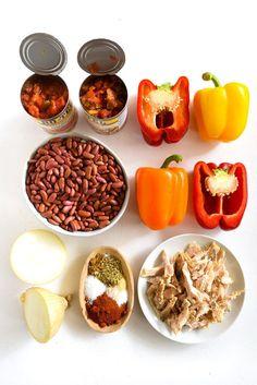 21 Crock-Pot Dump Dinners For Winter Mexican Slow Cooker Recipes, Crockpot Recipes, Cooking Recipes, Healthy Recipes, Cooking Ideas, Food Ideas, Dump Recipes, Ninja Recipes, Recipes