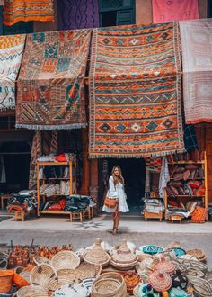 Is Morocco on your 2018 travel list? If it is then Jules has some great advice for you for travel in Marrakech!⠀ ✧✧✧✧✧⠀ Photo of Jules by Cherrie Lynn ✧✧✧✧✧⠀ Traveller Tip By Jules ↠ I was once told that Marrakech is the city Marrakech Travel, Marrakech Morocco, Morocco Travel, Morocco Fashion, Visit Morocco, Jolie Photo, Travel Goals, Travel Style, The Places Youll Go