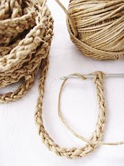 Ravelry: Free Tutorial-How To Crochet a Lucet-Cord pattern by Ingunn Santini