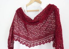 Ravelry: Cyrcus Rectangular Lace Shawl FREE knitting pattern by Madeline Wardrobe Free Knit Shawl Patterns, Lace Patterns, Free Pattern, Scarf Patterns, Knitted Poncho, Knitted Shawls, Lace Shawls, Knitted Scarves, Knit Cowl