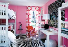 Pretty in Pink: the sleepover bedroom