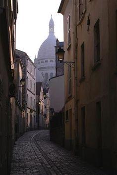 Rue de Sacré Coeur, Montmartre