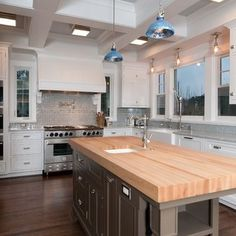 Gray Kitchen Island Design, Pictures, Remodel, Decor and Ideas - page 6