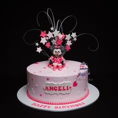 Cute little girls cake