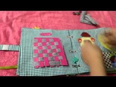 Little Ổi's quiet book - YouTube