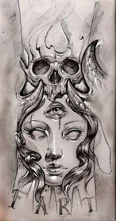 tattoo sketch by bhbettie.deviantart.com on @deviantART