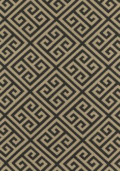 Mykonos Key fabric from Thibaut - - Stone Geometric Fabric, Woven Fabric, Matching Wallpaper, Cole And Son, Neutral Palette, Greek Key, Designers Guild, Fine Furniture, Mykonos