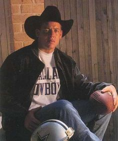 Troy Aikman....the good old days when the Dallas Cowboys were GREAT :-(