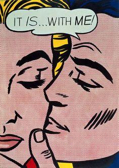 Visit us to license this and other works by Roy Lichtenstein. © Estate of Roy Lichtenstein/DACS/Artimage 2020 Roy Lichtenstein Pop Art, Cartoon Kunst, Comic Kunst, Comic Art, Andy Warhol Pop Art, Cultura Pop, Cuadros Pop Art, Illustration Pop Art, Tatoo
