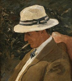 Emanuel Phillips Fox - Portrait of a man (1909)