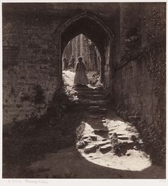 A Vista, Furness Abbey, 1860, Roger Fenton, The Royal Photographic Society Collection, National Media Museum / SSPL. Creative Commons BY-NC-SA