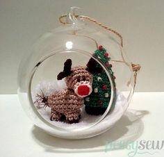Onlangskwam ik in de winkel mooiemaar lege glazen kerstballen tegen. Leuk dus om wat te bedenken om ze op te vullen. En omdat ik graag amigurumis maak,was het snel beslist: een mini Rudolf rendiertje en een kerstboompje komen binnenkort in … Lees Meer